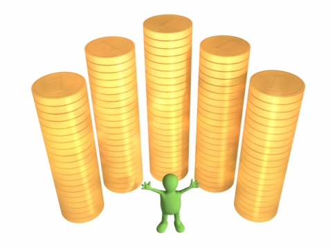 Dividend Yields Going up—They're the Equity