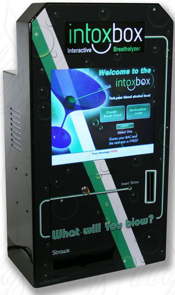 IntoxBox Interactive Breathalyzer
