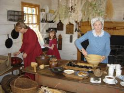 Learn cookery at the Marietta Root House Museum