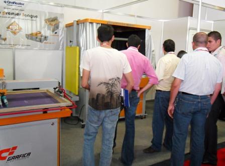 Grafica machines at fespa mexico2011
