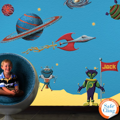 Space Wall Stickers by My Wonderful Walls
