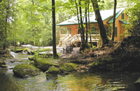 Brevard NC Cabin Rental-www.trouthousefalls.com