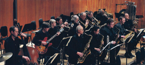 Aardvark Jazz Orchestra, Mark Harvey director