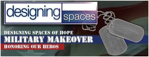 Designing Spaces Military Makeover