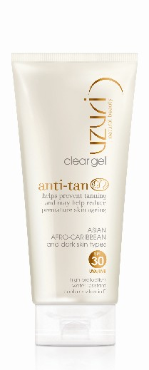 Uzuri anti-tan gel spf 30