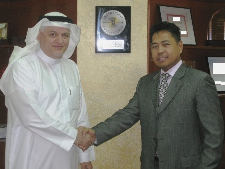 Mr. Mohammad Munir Almulki, managing director at M