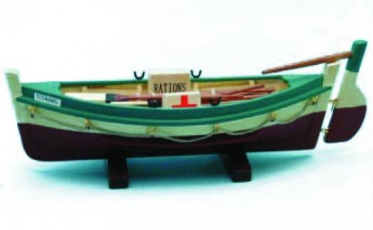 www.rmstitanic100.co.uk   RMS Titanic Lifeboat