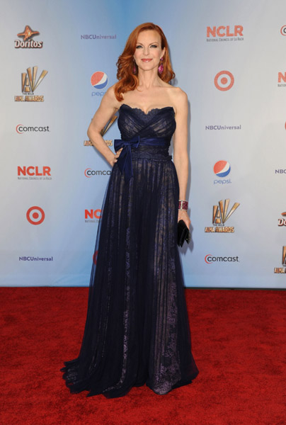 Marcia Cross wearing Jean Fares Couture!