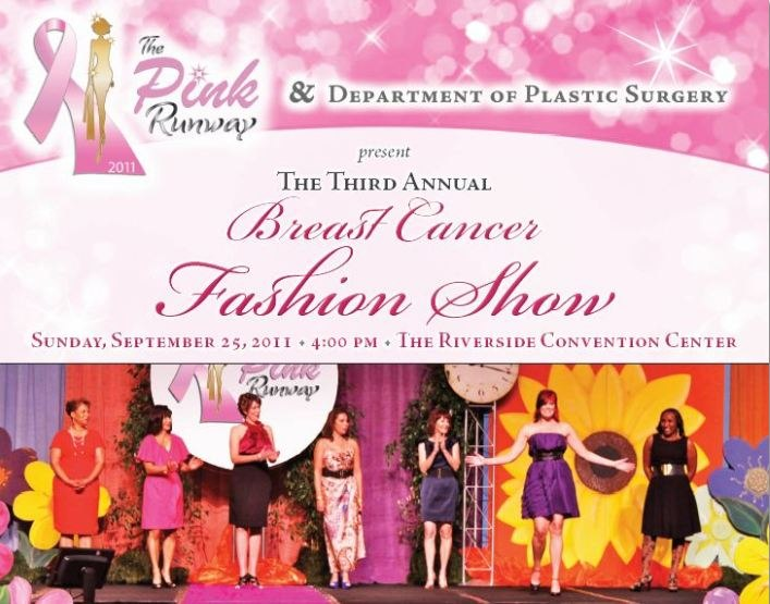 Breast Cancer Survivors on The Pink Runway