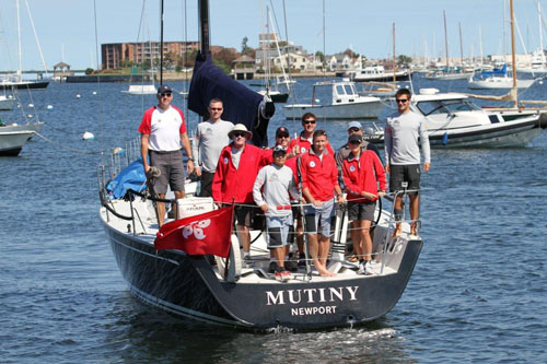 RHKYC Team on Mutiny (RHKYC / Maureen Burns)