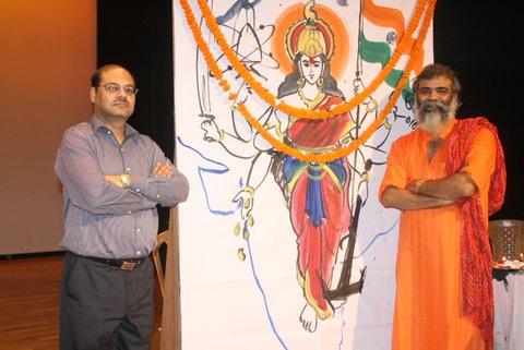 Baba Satyanaryan Mouryaji with CEO Shri PK.Agarwal