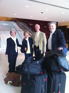 L-R: Carol, Muriel, Tony and Lou