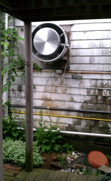 Acoustifence 174 Noise Barrier Cuts Industrial Restaurant