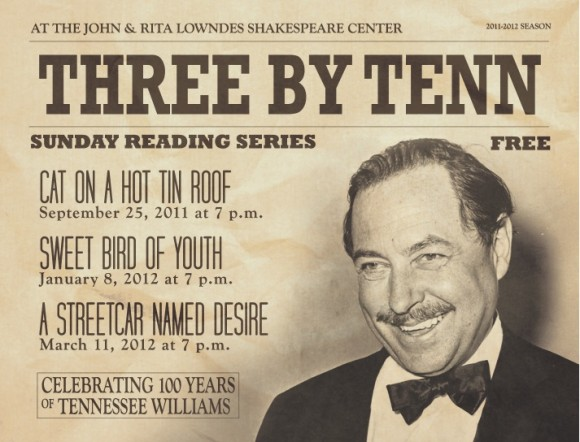 Orlando Shakespeare Theater Offers Free Reading Series