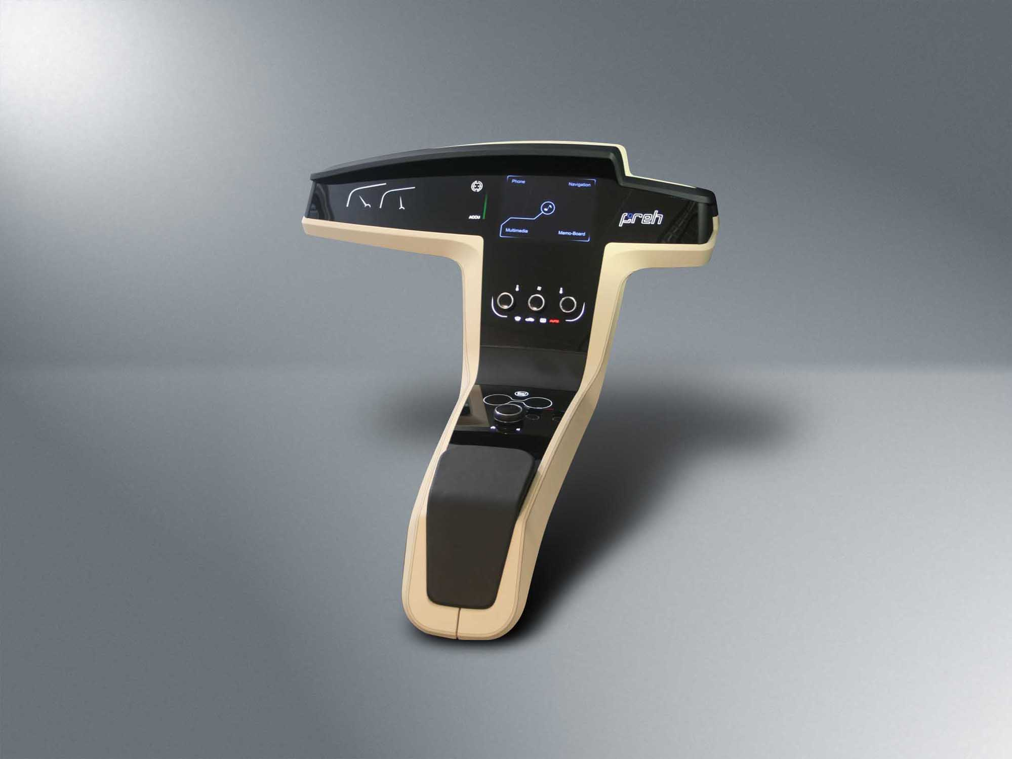 Preh Center Console Concept at IAA 2011