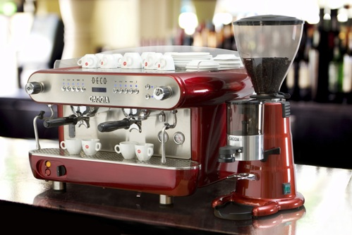Gaggia Deco 2, with grinder, from Watermark.