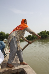 Sindh, Pakistan after 2010 floods. Photo by CRS