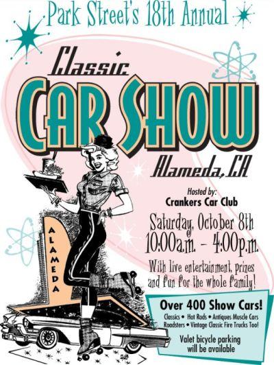Park Street Classic Car Show poster