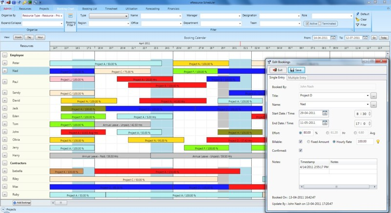 employee scheduling template