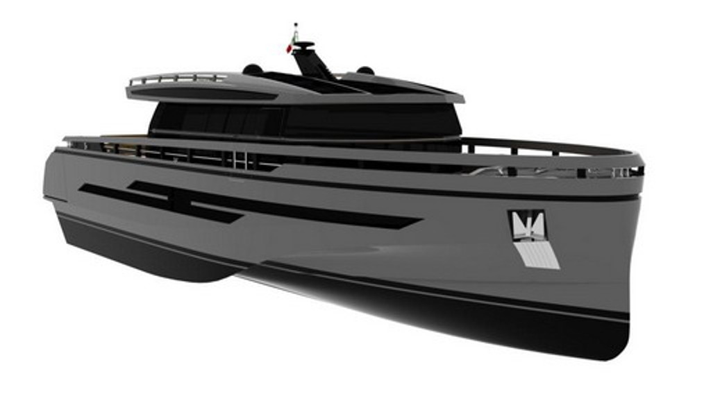 Baia has decided to enter a different segment of yachts, of larger sizes ...