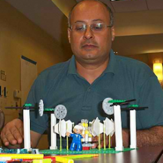 Kamal Hassan hard at work with LEGO SERIOUS PLAY