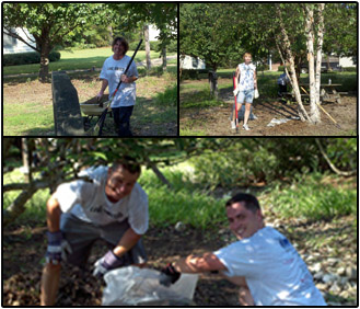 IDSI Employees Landscaping