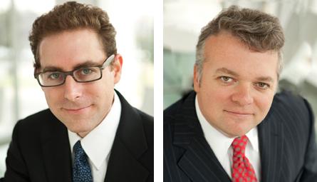 """Jeffrey Goldfarb, Charles W. """"Trey"""" Branham II"""