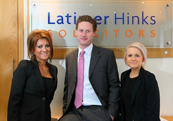 Daniel, Victoria and Kelly of Latimer Hinks