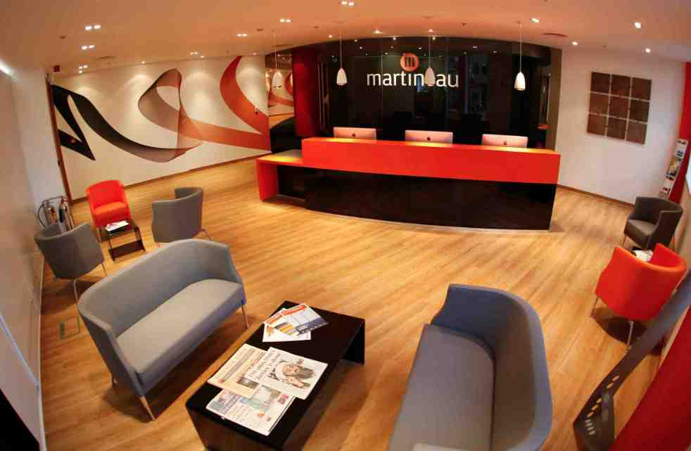 Martineaus New Front of House