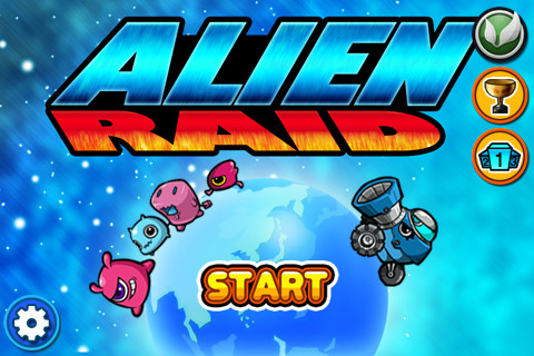 Alien Raid screenshot