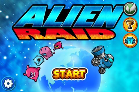 Alien Raid screenshot