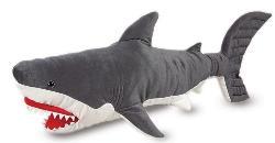 A plush Melissa & Doug shark will be on the show.