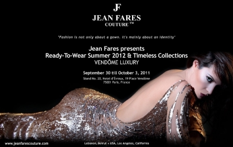 Jean Fares Couture at Vendome Luxury in Paris