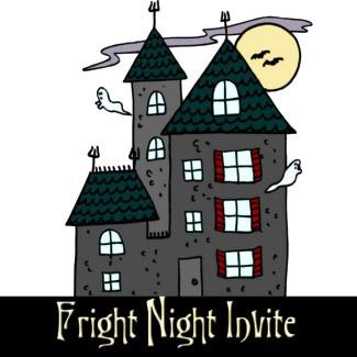 Custom Halloween Invites
