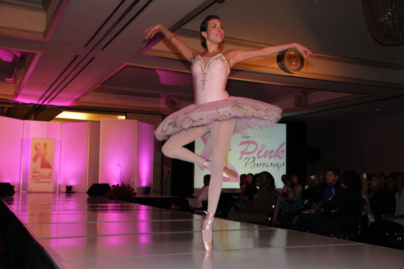 Carrie Lee Riggins on The Pink Runway