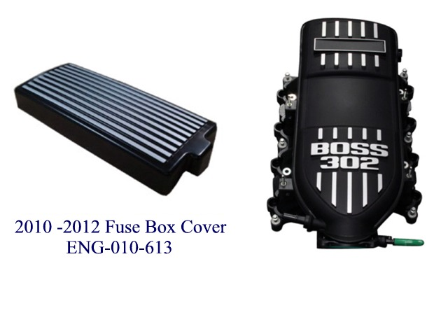NXT Generation's Fuse Box Cover for 2012 Boss 302 Mustangs