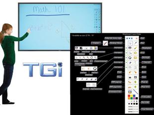 "TGi Interactive Whiteboard Solution ""Beauty"""