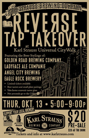 KSCW Reverse Tap Takeover
