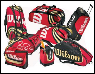 Wilson Tour BLX red tennis bags