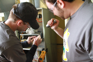Certified technicians help maintain home systems