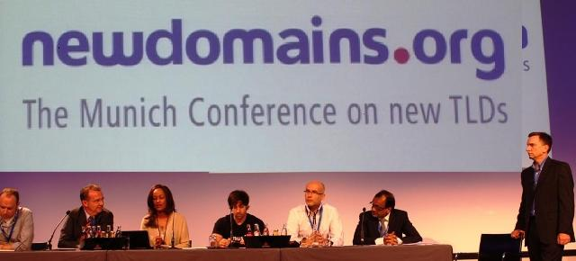 Sophia Bekele with other Panelist on New gTLDs