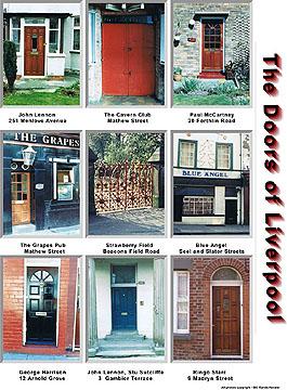 The Doors of Liverpool by Rande Kessler