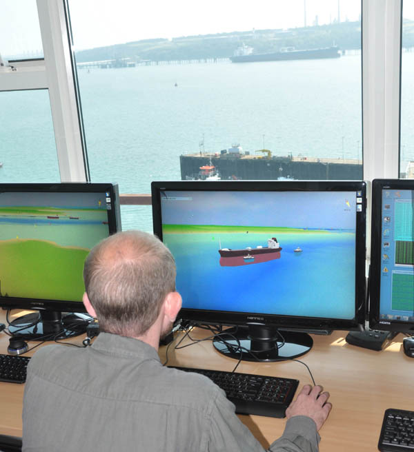 GeoVS C-Vu on trial at Milford Haven VTS Centre