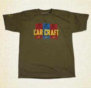 Car Craft Magazine T-shirt, one of many styles