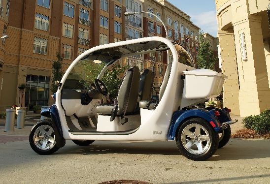 4-Passenger Electric Car  $99 Half Day