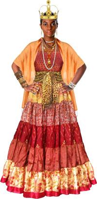 Nzinga was the 17th century queen of Angola.