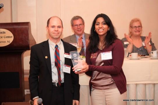 Asha Thomas receives Toastmaster of the Year