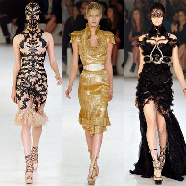 Alexander Mcqueen At Paris Fashion Week Stylert Com