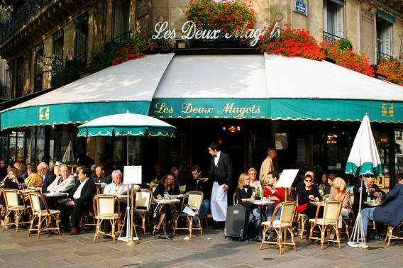 Les Deux Magots Paris France