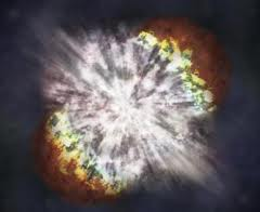 Supernova - Redshift in Dust ?